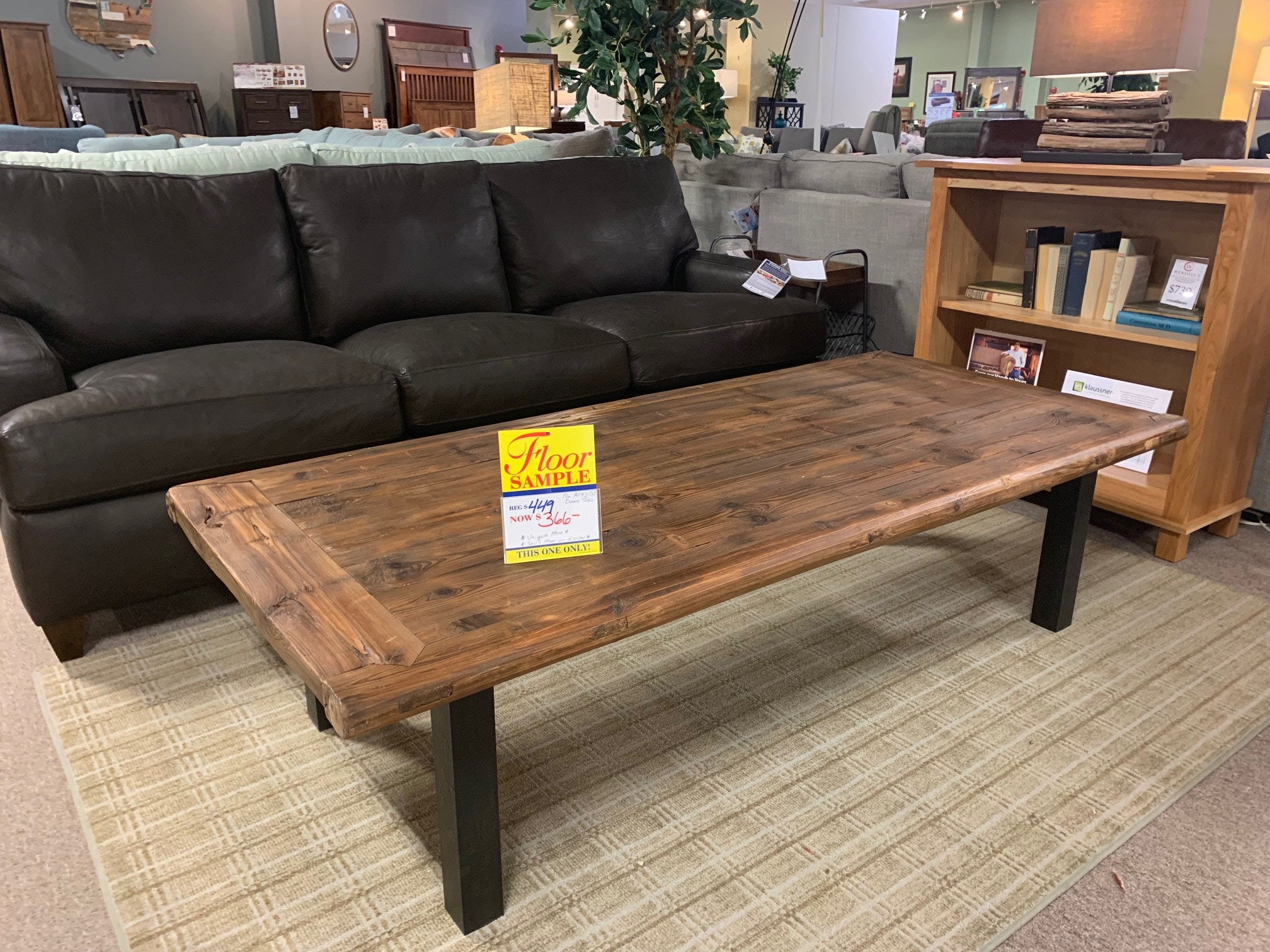 Beautiful Coffee Table Reclaimed Door Is Now A Coffee Table