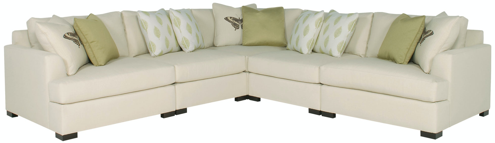 Sofa Express Pineville Nc Bernhardt Interiors Living Room Adriana Sectional 5 Piece N1536