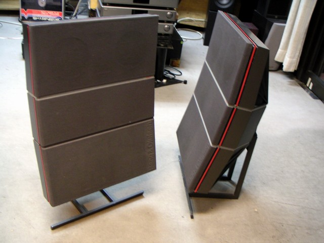 Bang Olufsen Beovox Rl140 Large Stereo Speakers Junk Mail