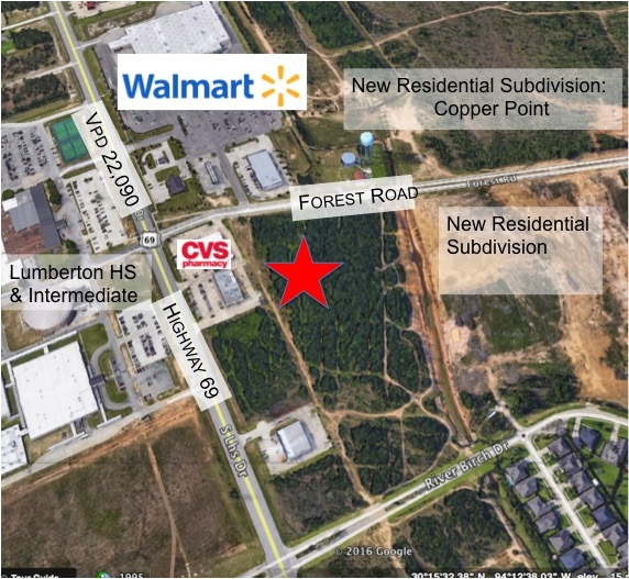 Forest Rd, Lumberton, TX, 77657 - Commercial Property For Sale on