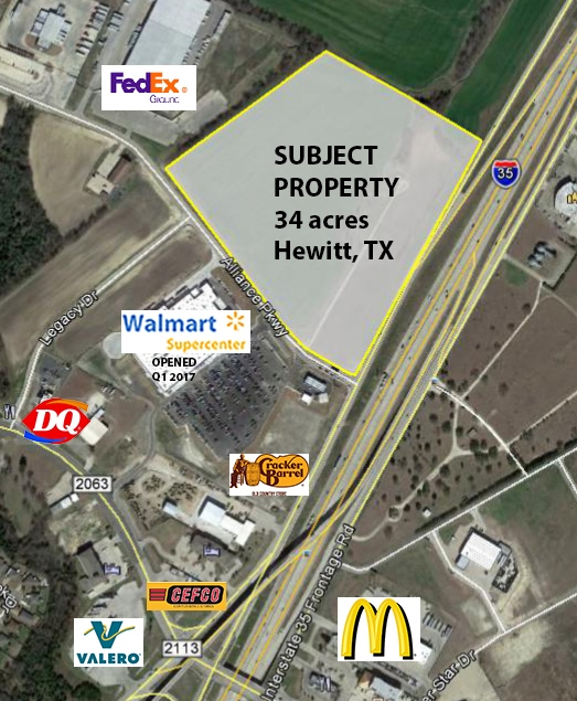 Alliance Parkway at I-35, Hewitt, TX, 76643 - Commercial Property