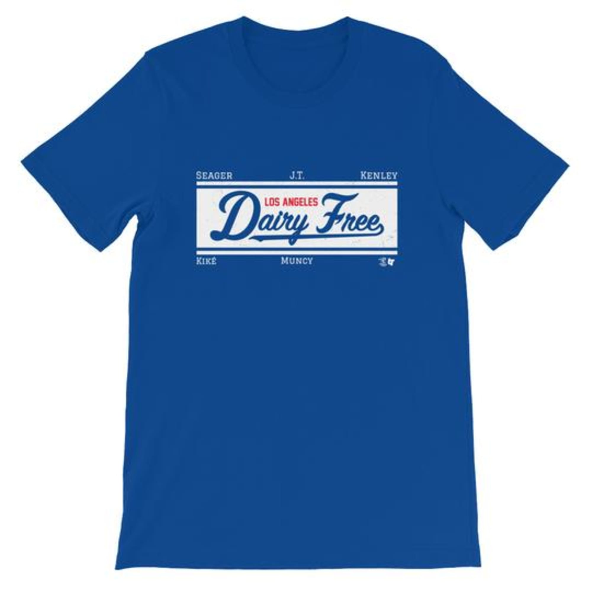 Some La Dodgers Are Going Dairy Free So Nab A T Shirt - Shirt A La Minute Groningen
