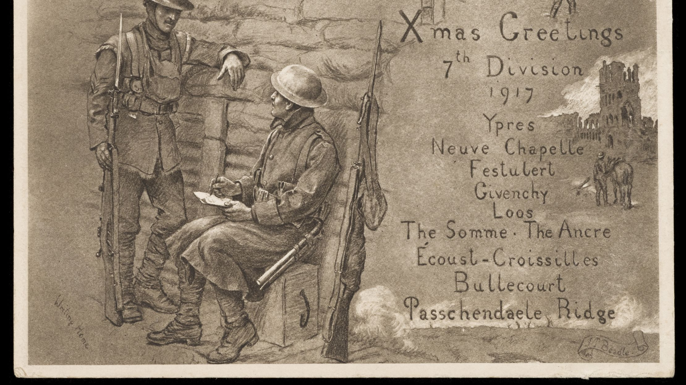 Facts About Wwi Wwi Centennial Last Christmas At War Mental Floss