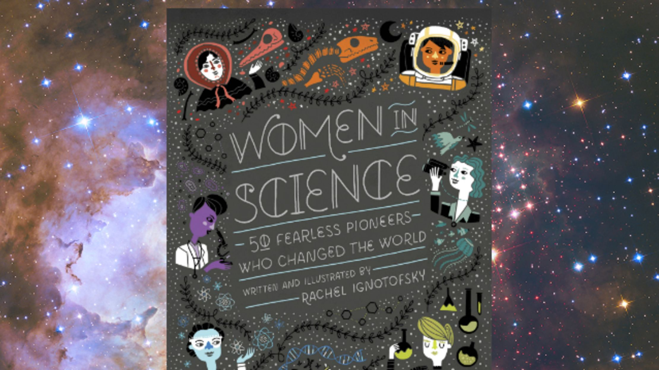Vol Nantes Lyon Pas Cher Picture Book Women In Science Captures Little Known Stories Of