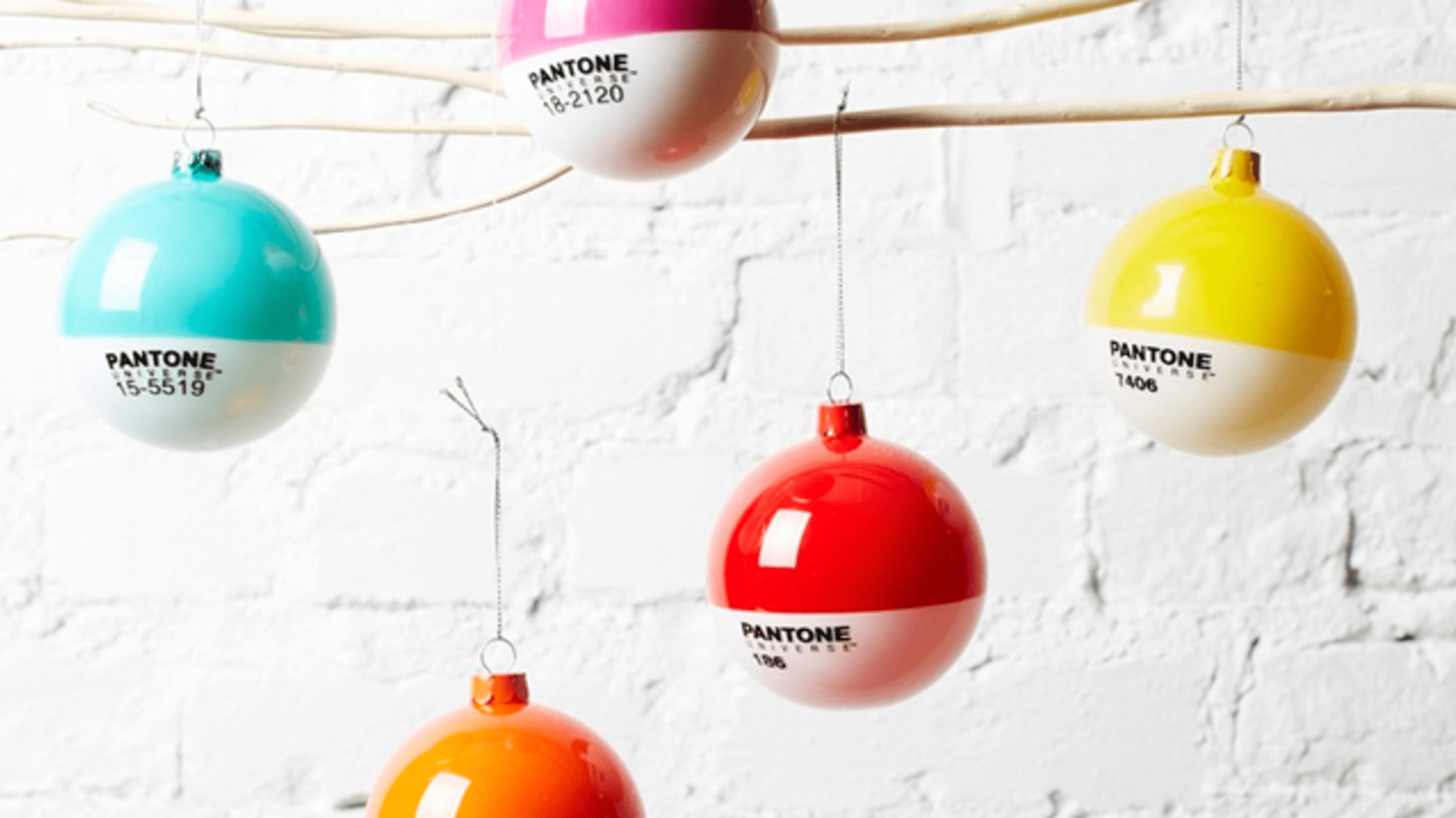 Pantone Christmas Ornaments 30 Unusual And Geeky Ornaments Mental Floss