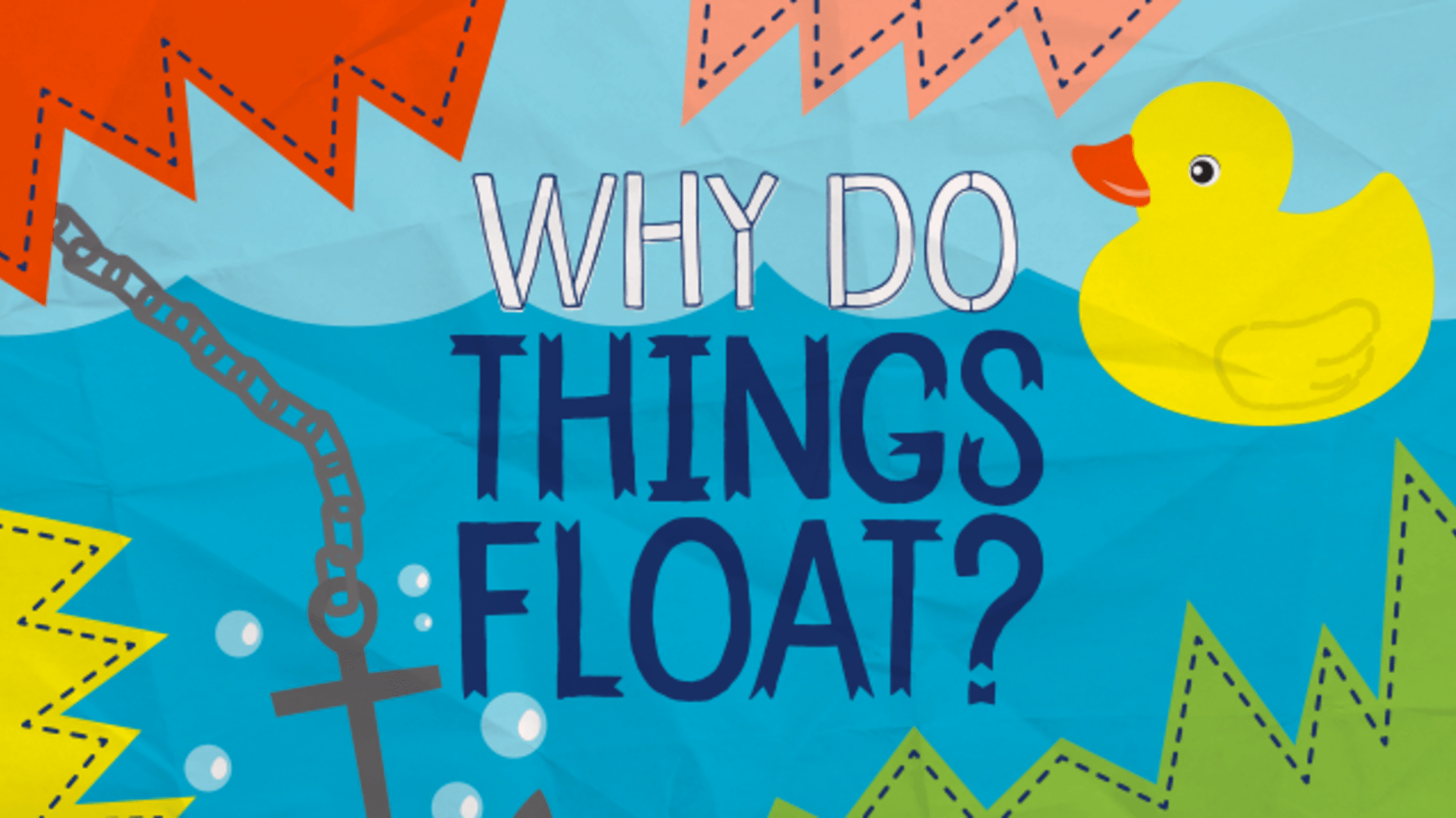Do Things Why Do Things Float In Water Mental Floss