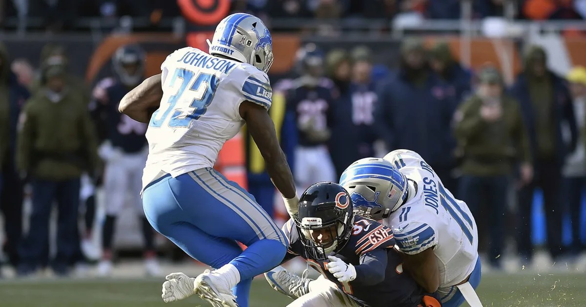 Marvin Jones And Kerryon Johnson Ruled Out For Lions