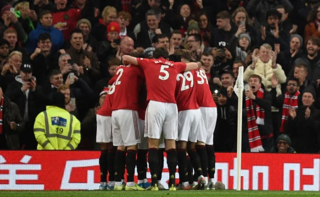 Man Utd 2 1 Tottenham Report Ratings Reaction As Red
