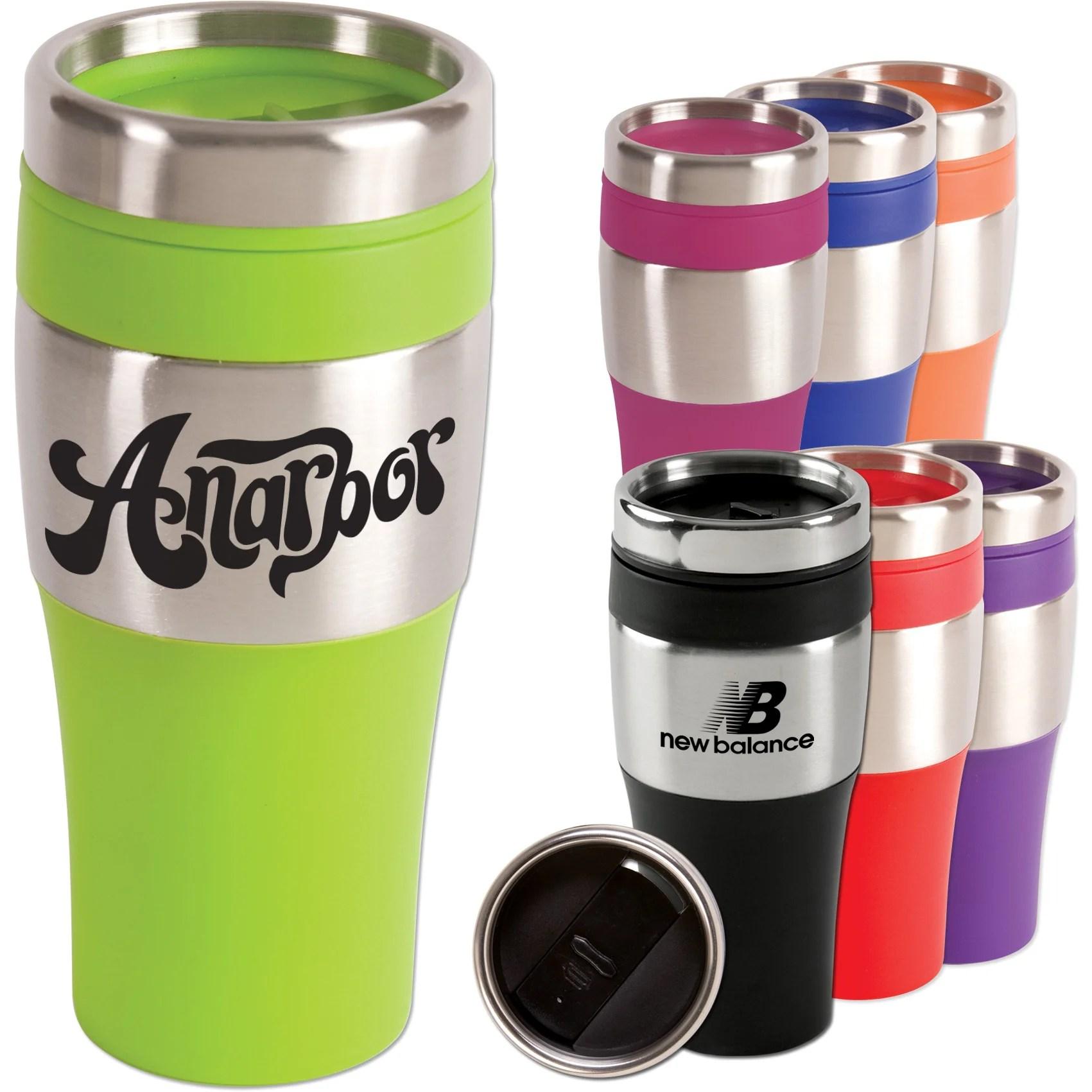 Silver Streak Tumbler 14 Oz Promotional Travel Mugs