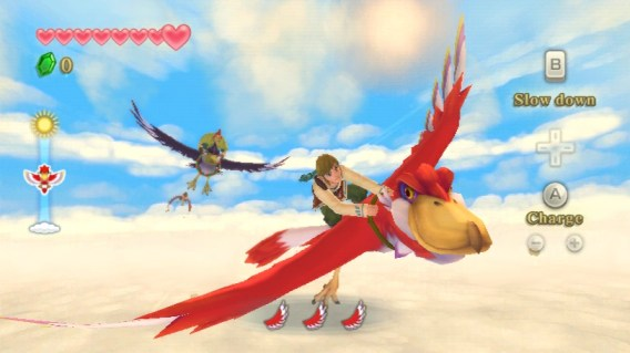 Flight Gameplay %28Skyward Sword%29 A Skyward Sword Rant from a Longtime Zelda Fan