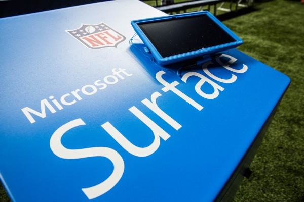 Microsoft once again on the NFL\u0027s Surface plate controversy Bowen