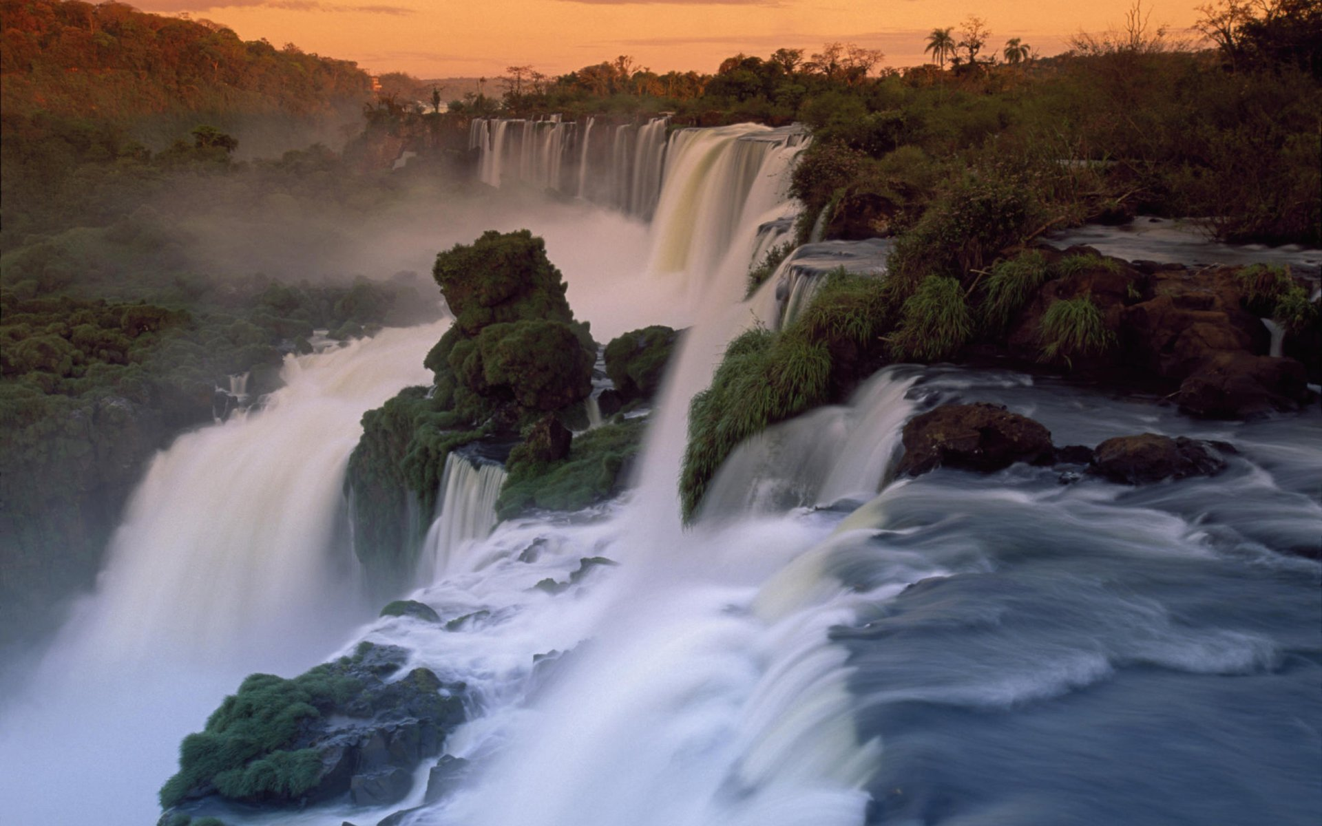 3d Wallpaper Widescreen Waterfalls Iguazu Falls Full Hd Wallpaper And Background Image
