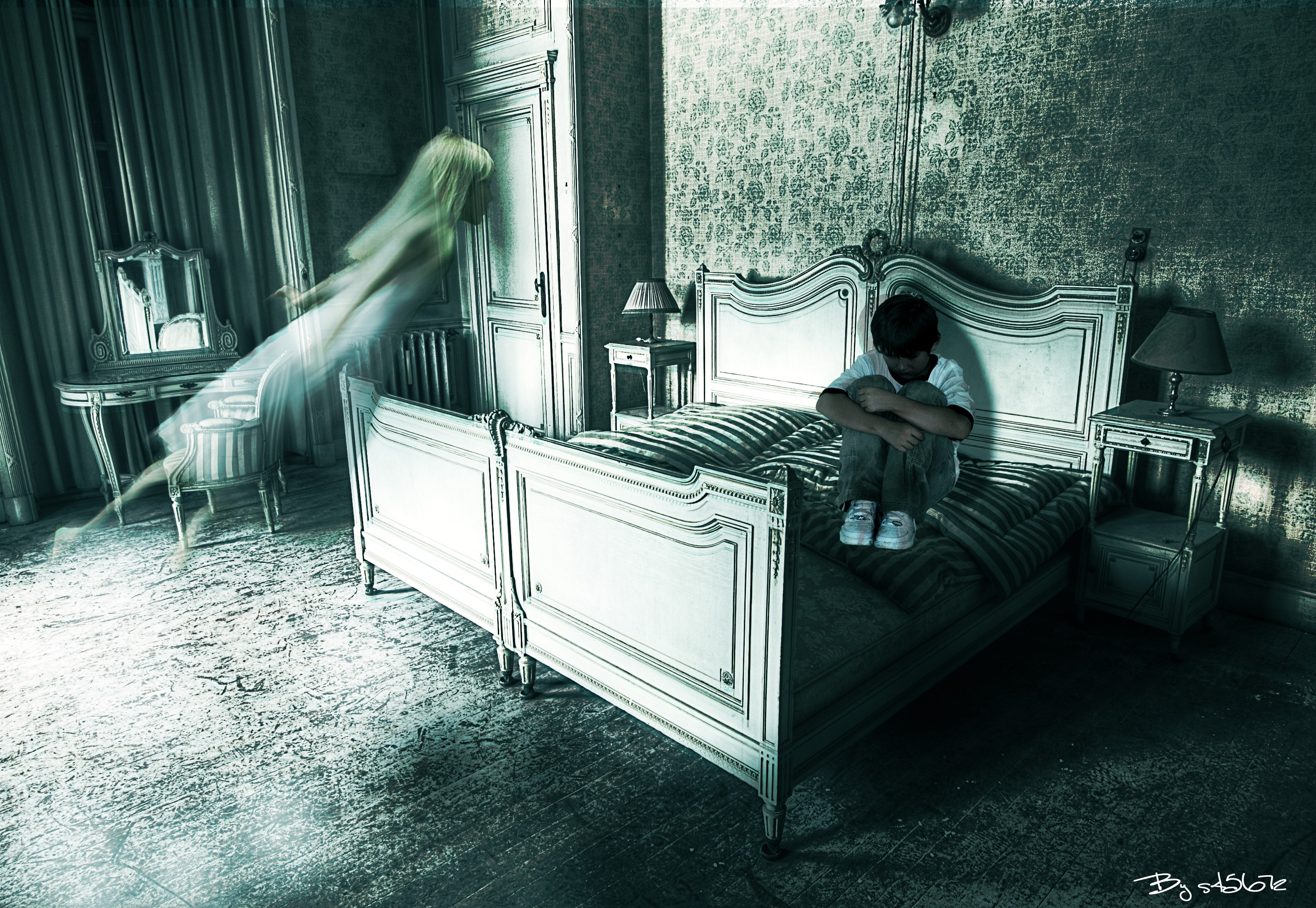 Gothic Wallpaper For Iphone Ghost Full Hd Wallpaper And Background Image 3156x2178