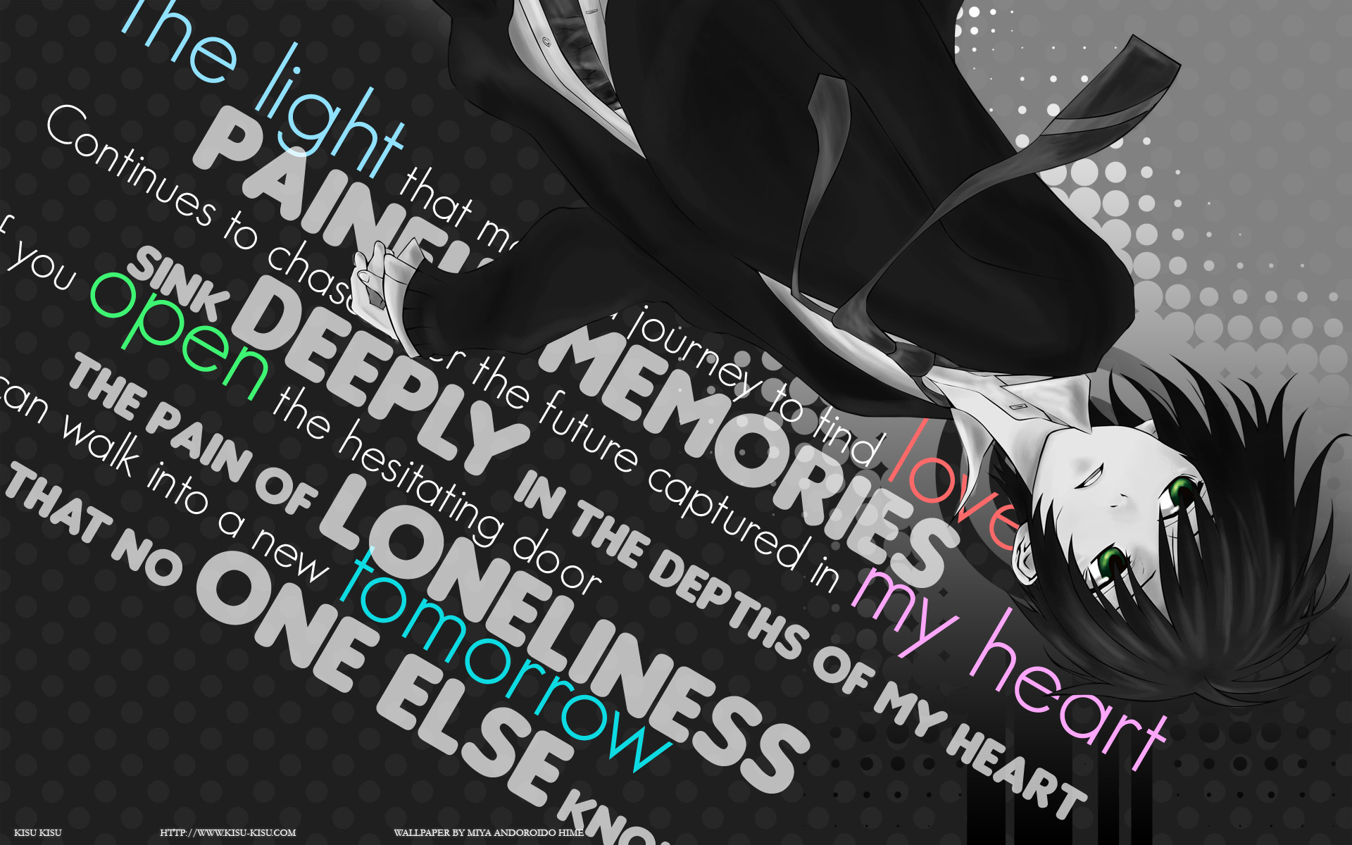 Sad Boy Quotes Hd Wallpaper Nabari No Ou Full Hd Wallpaper And Background 1920x1200