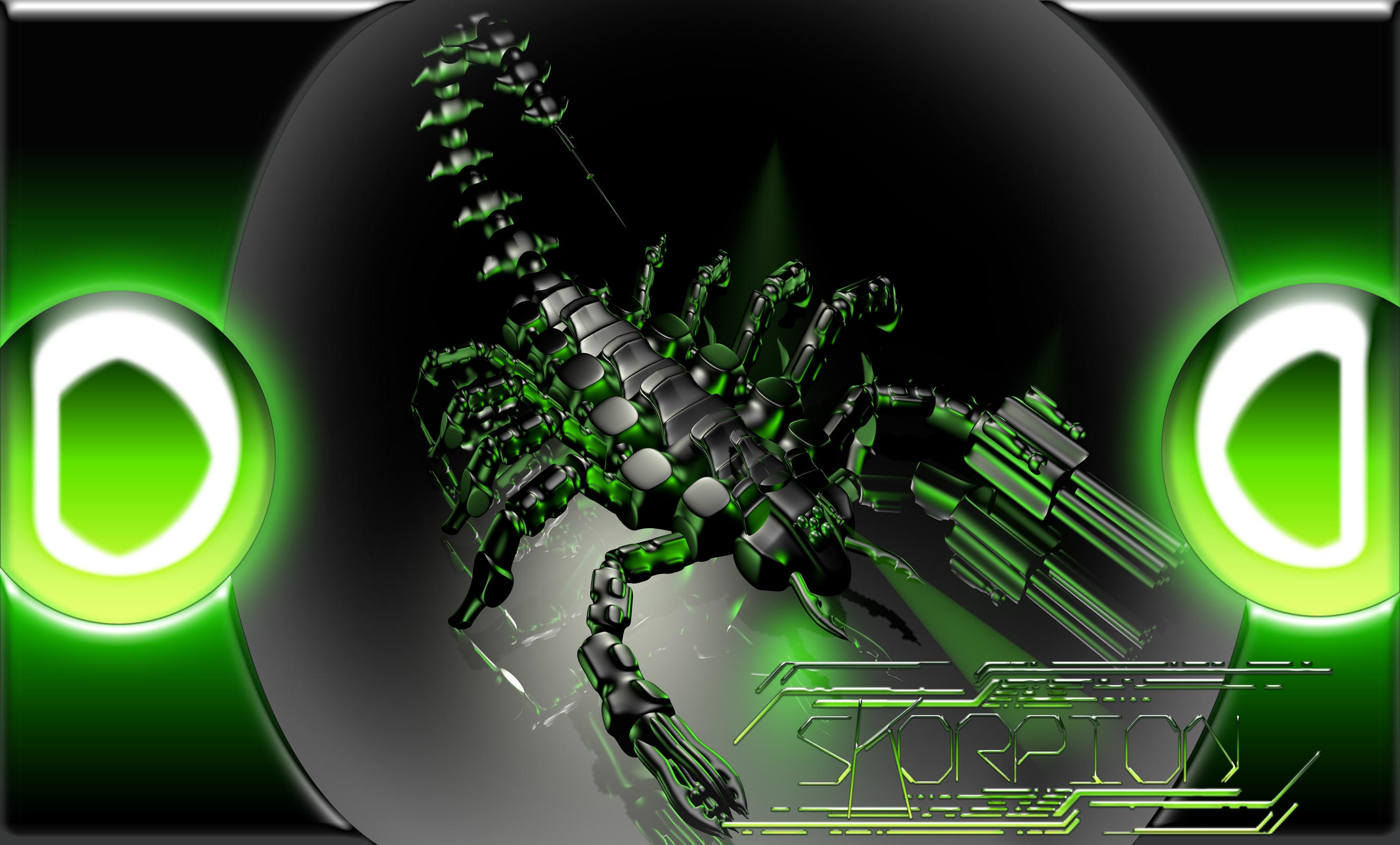 3d Wallpaper Theme For Android Cyber Scorpion Full Hd Wallpaper And Background
