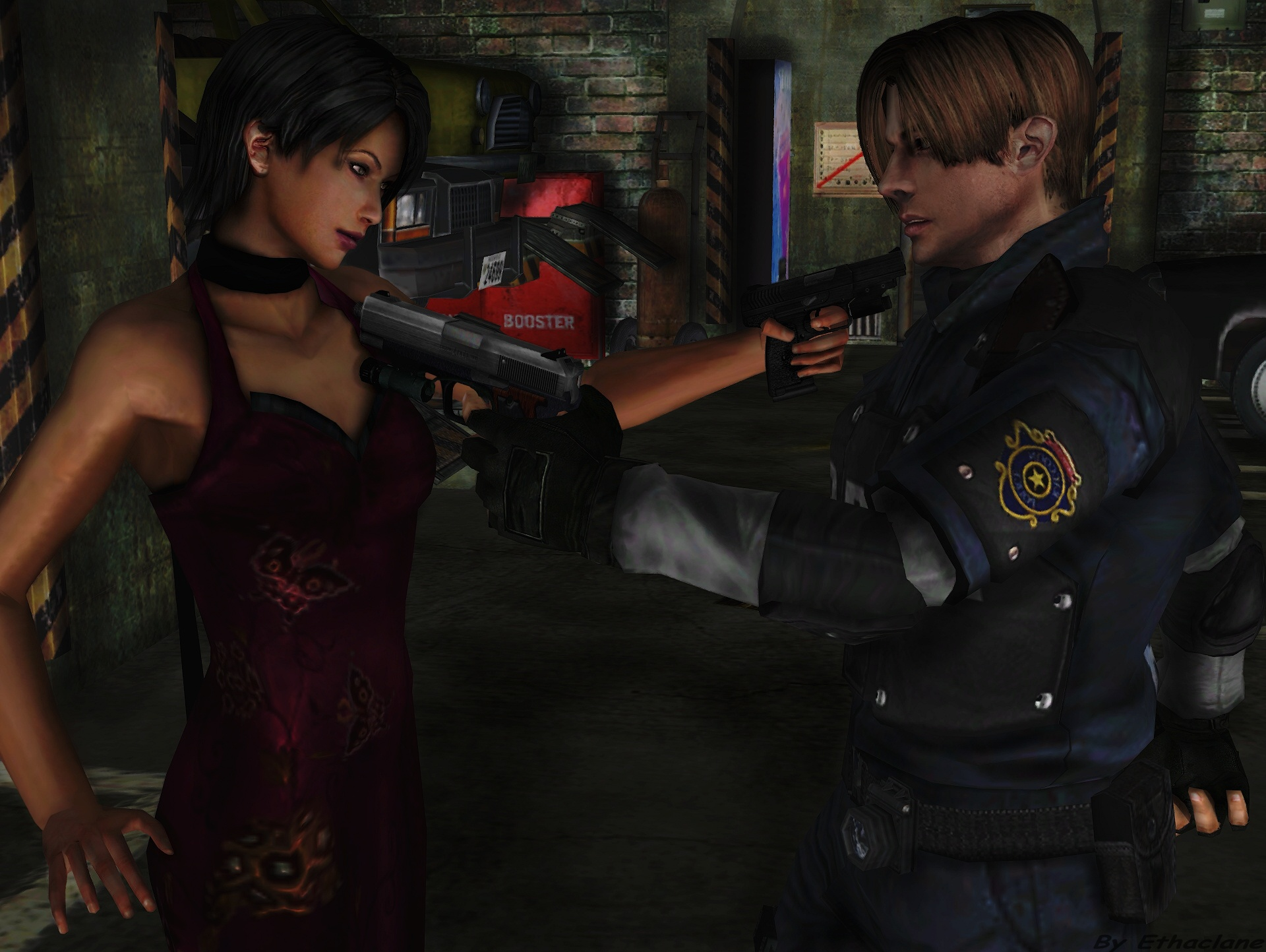 Leon S Kennedy Hd Wallpaper Resident Evil Full Hd Wallpaper And Background Image