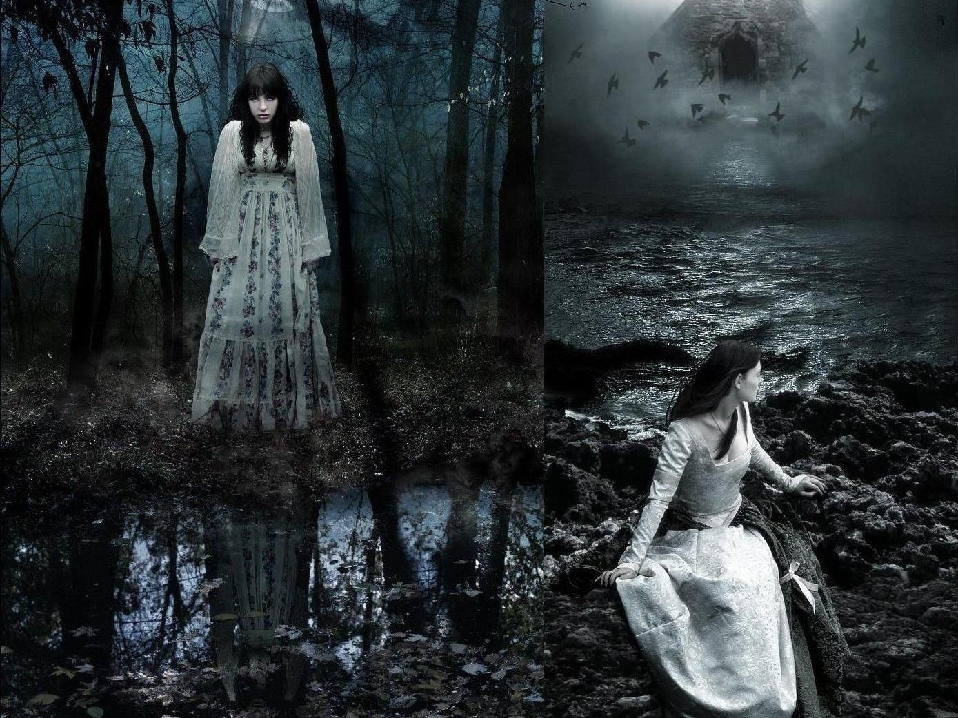 Trance Girl Wallpaper Gothic Wallpaper And Background Image 1389x1042 Id 238455