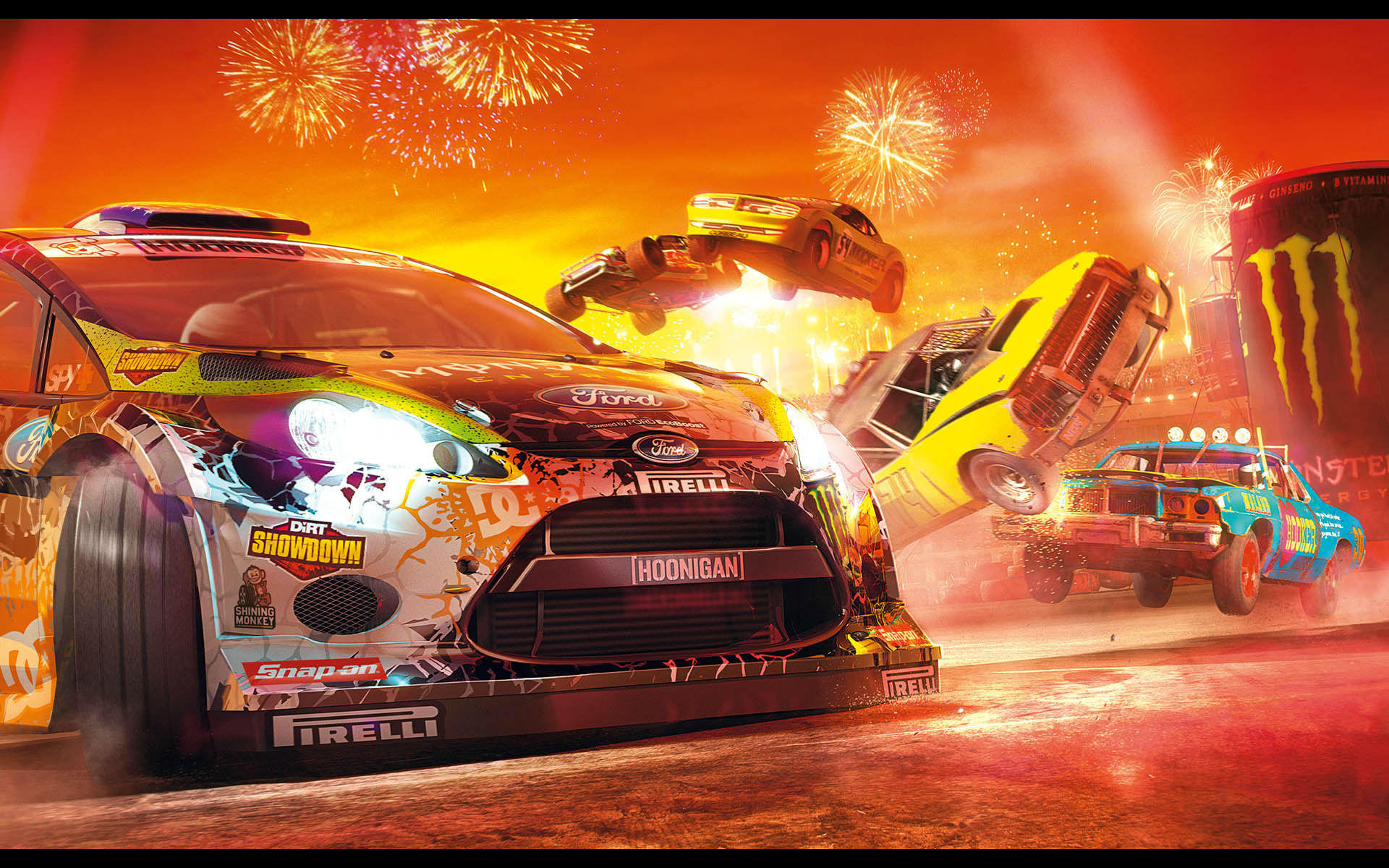 Cool Background Wallpapers 3d 6 Dirt Showdown Hd Wallpapers Background Images