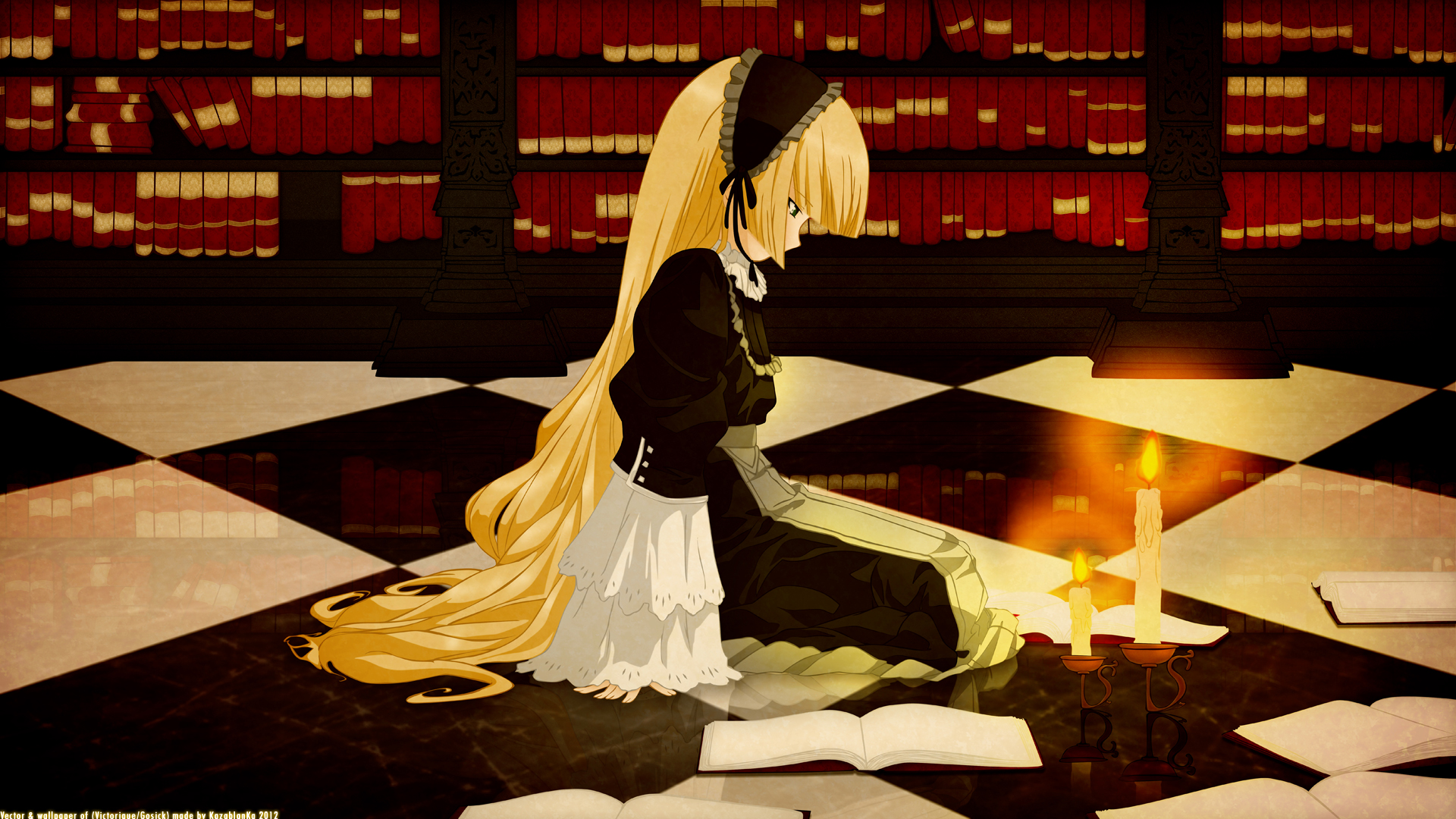 Cute Girl Wallpaper For Profile Pic Gosick Hd Wallpaper Background Image 1920x1080 Id