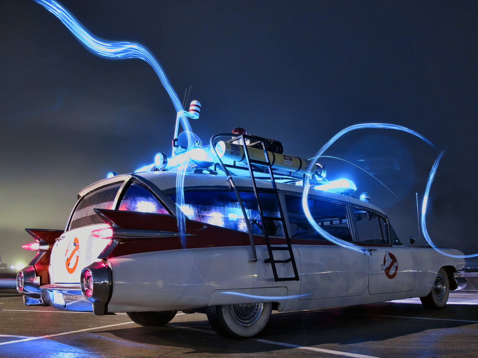 Police Car Wallpaper Mobile Cadillac Ambulance Ectomobile By Miller Meteor 1984