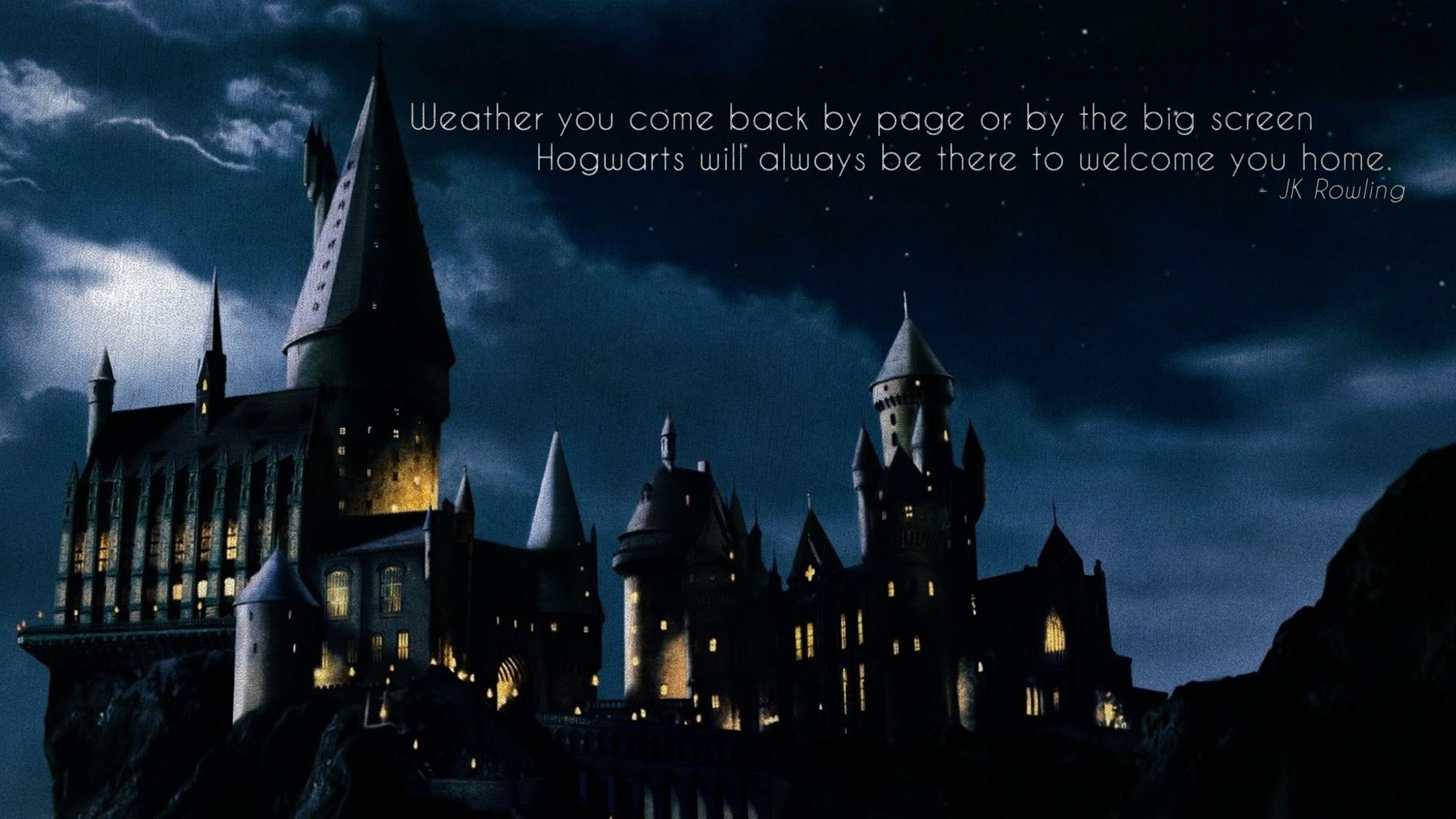 Inspirational Quote Wallpaper For Surface Pro 4 Harry Potter Fond D 233 Cran Hd Arri 232 Re Plan 2560x1440