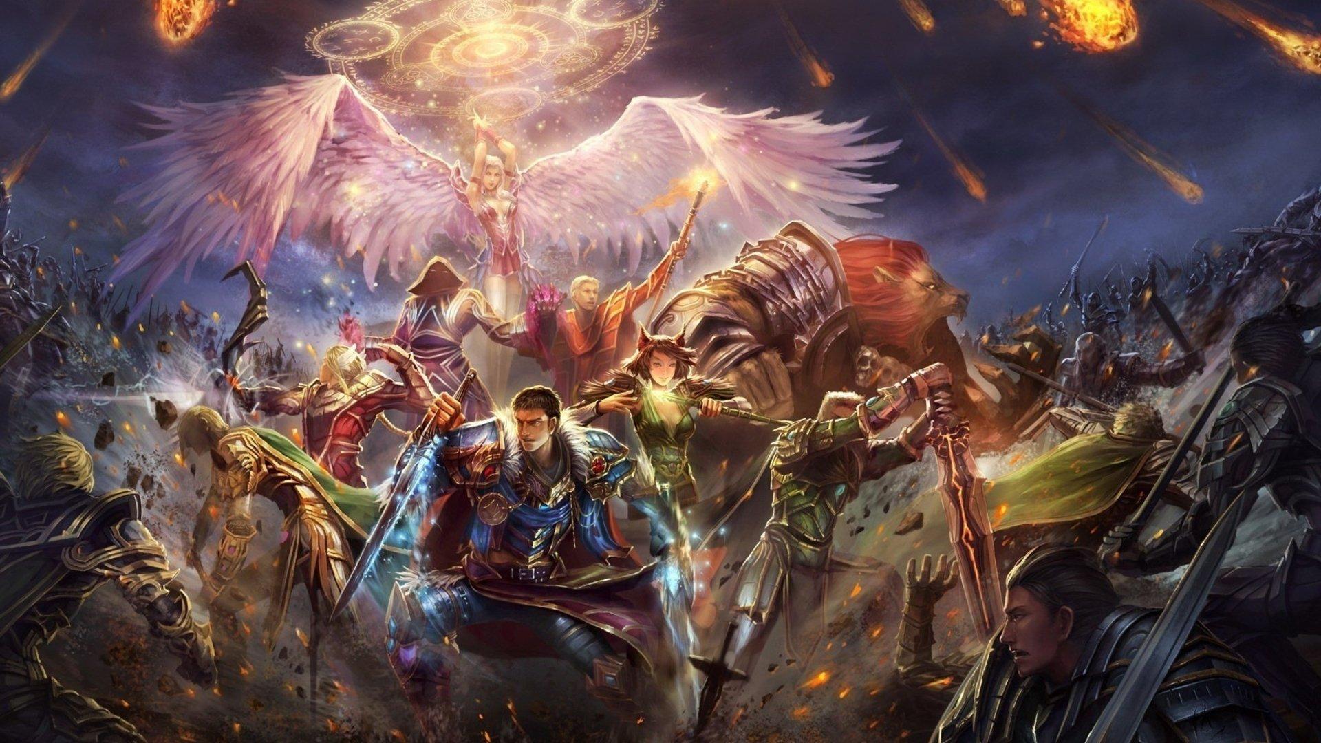 Genji Wallpaper Iphone Epic Battle Fantasy 4 Full Hd Wallpaper And Background