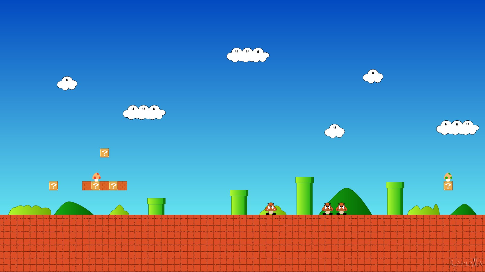 Super Mario Wallpaper Iphone 5 Super Mario Bros Full Hd Fondo De Pantalla And Fondo De