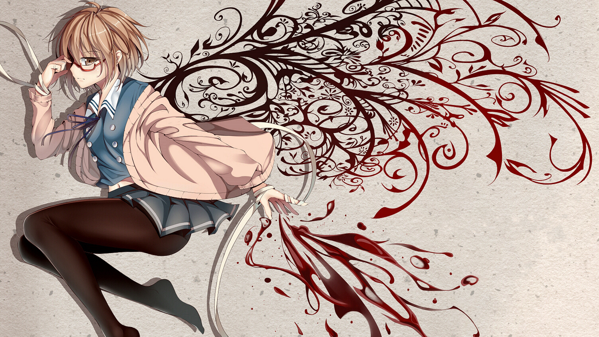 Chinese Cute Girl Hd Wallpaper Beyond The Boundary Full Hd Wallpaper And Background