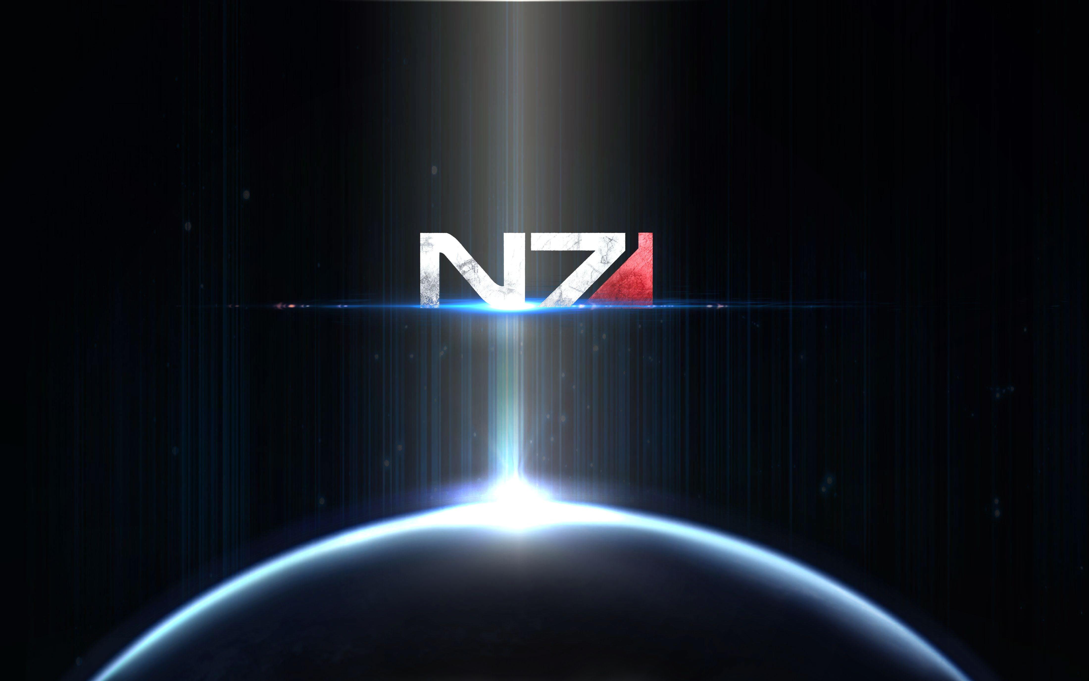 N7 Iphone Wallpaper Mass Effect N7 Sign Wallpaper 4k Ultra Hd Fond D 233 Cran And