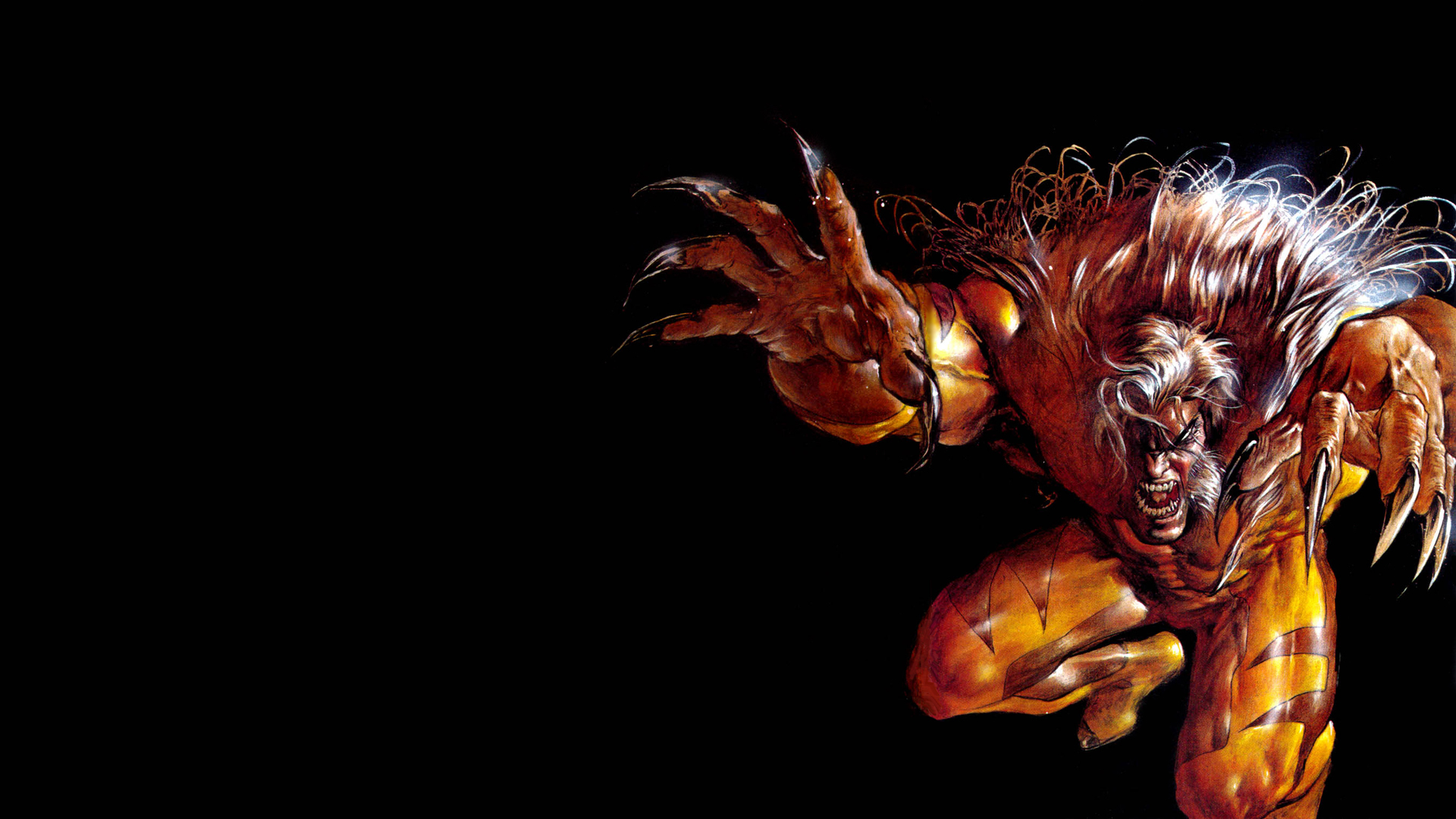 Saber Tooth Tiger 3d Wallpaper Sabretooth Full Hd Wallpaper And Background 1920x1080