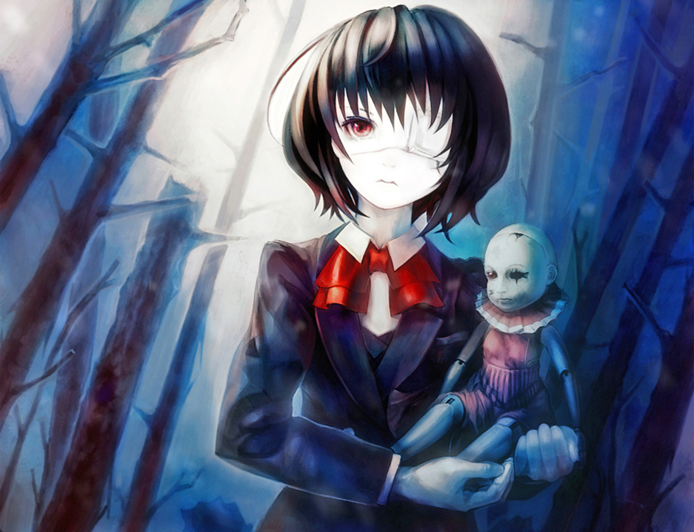 Iphone 5 Wallpaper Cute Pinterest Mei Misaki Wallpaper And Background Image 1366x1047 Id