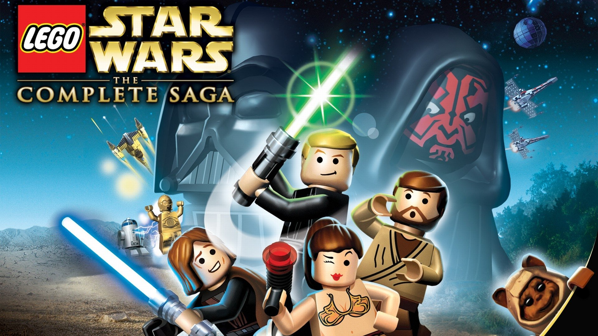 Lego Star Wars Iphone Wallpaper Lego Star Wars The Complete Saga Full Hd Wallpaper And