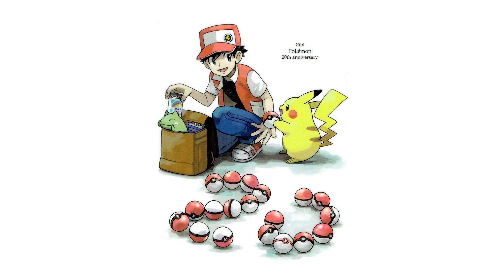 Cute Marshmallow Wallpapers For Iphone Pokemon 20th Anniversary Hd Wallpaper Background Image