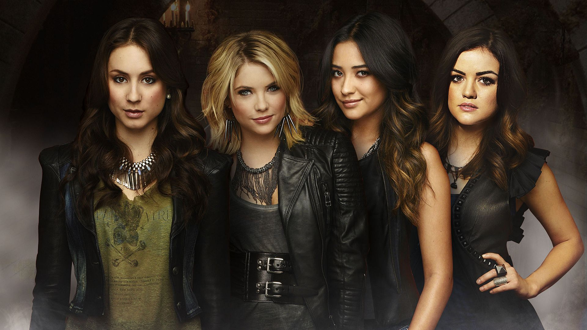 Vampire Diaries Hd Wallpapers 1366x768 Pretty Little Liars Full Hd Wallpaper And Background Image
