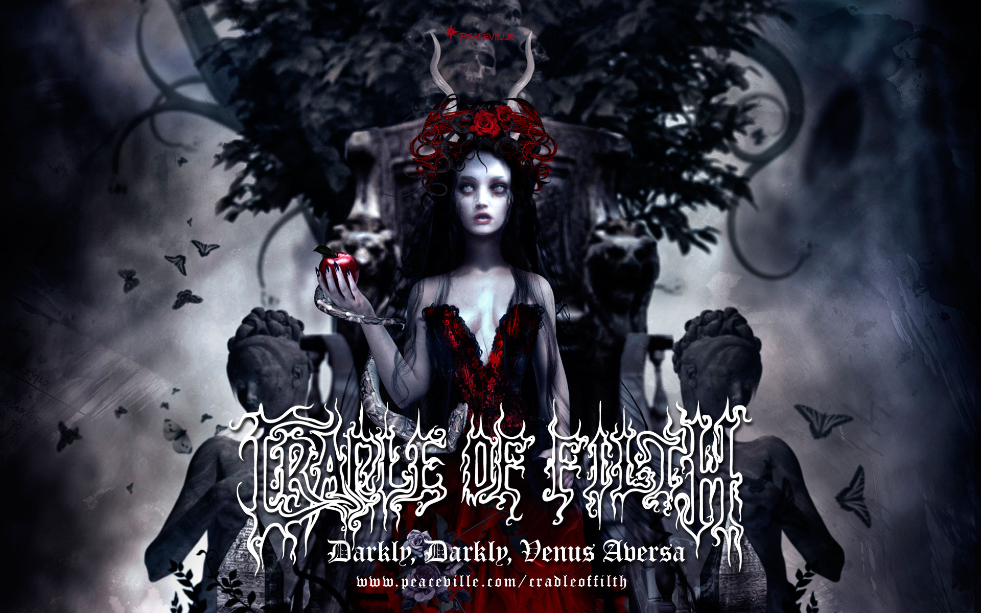 Goth Girl Wallpaper 1440x2960 Cradle Of Filth Hd Wallpaper Background Image