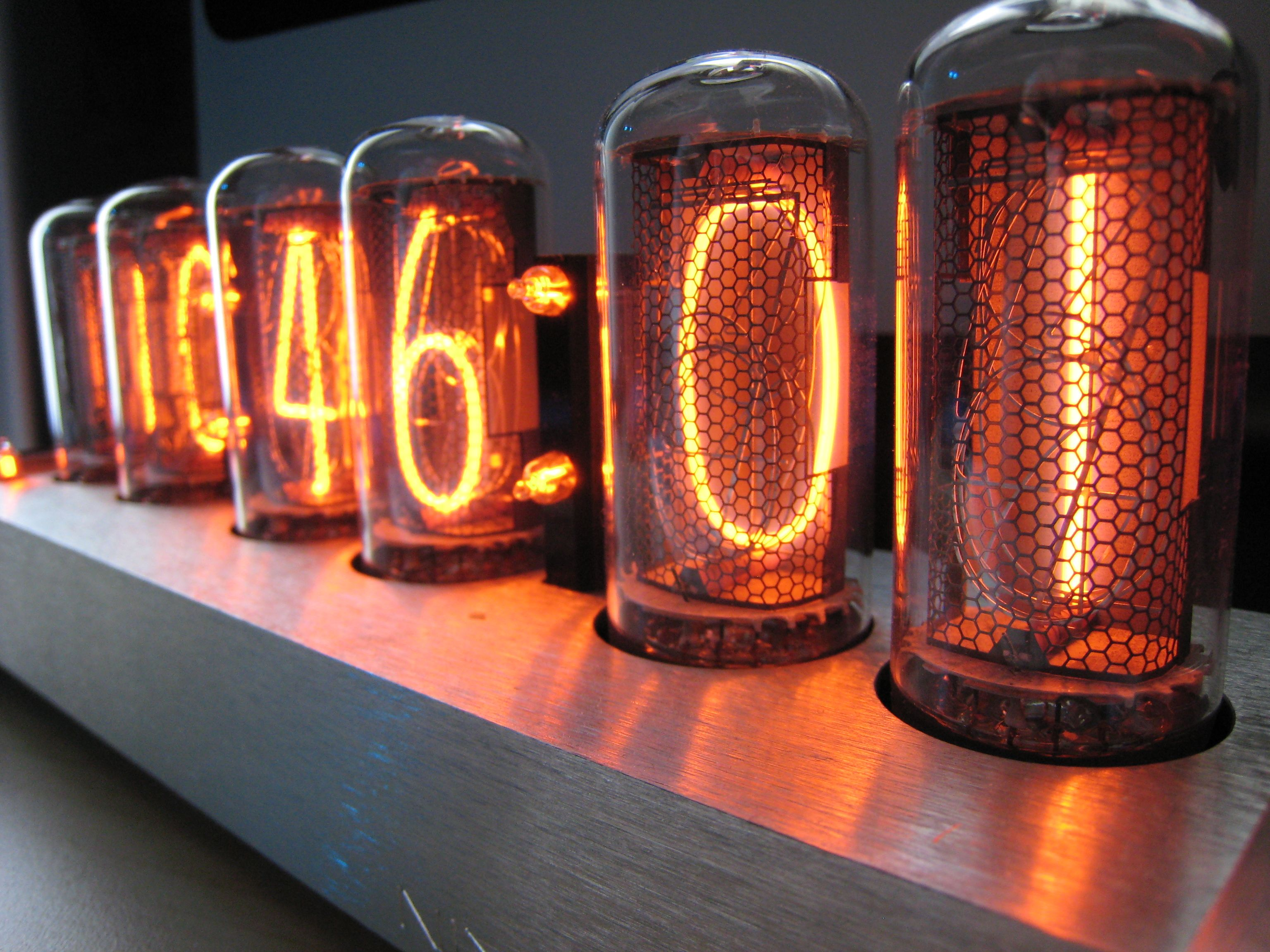 Hd Tube Nixie Tube Hd Wallpaper Background Image 3072x2304