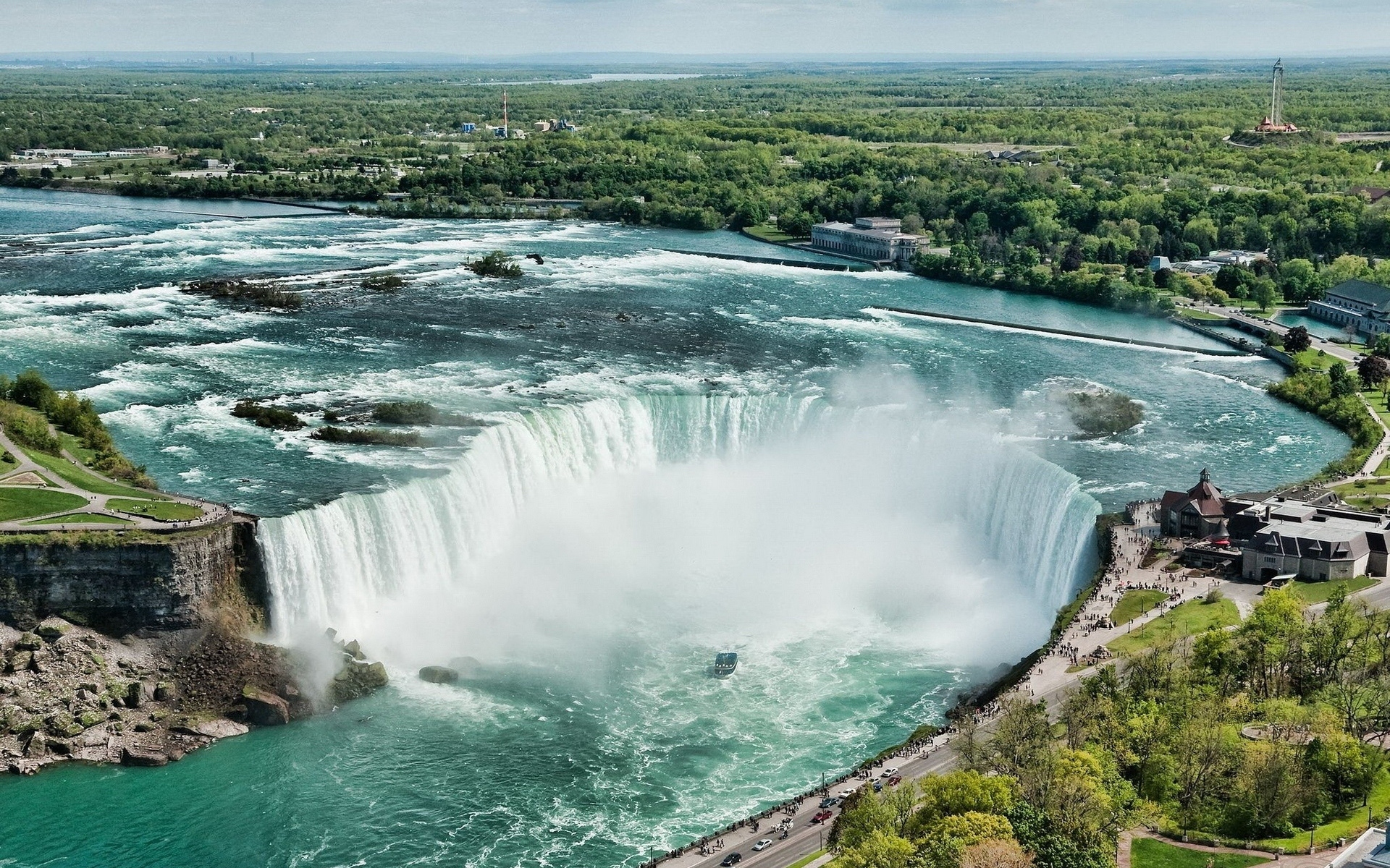 Hd Niagara Falls Wallpaper Niagara Falls Hd Wallpaper Background Image 1920x1200