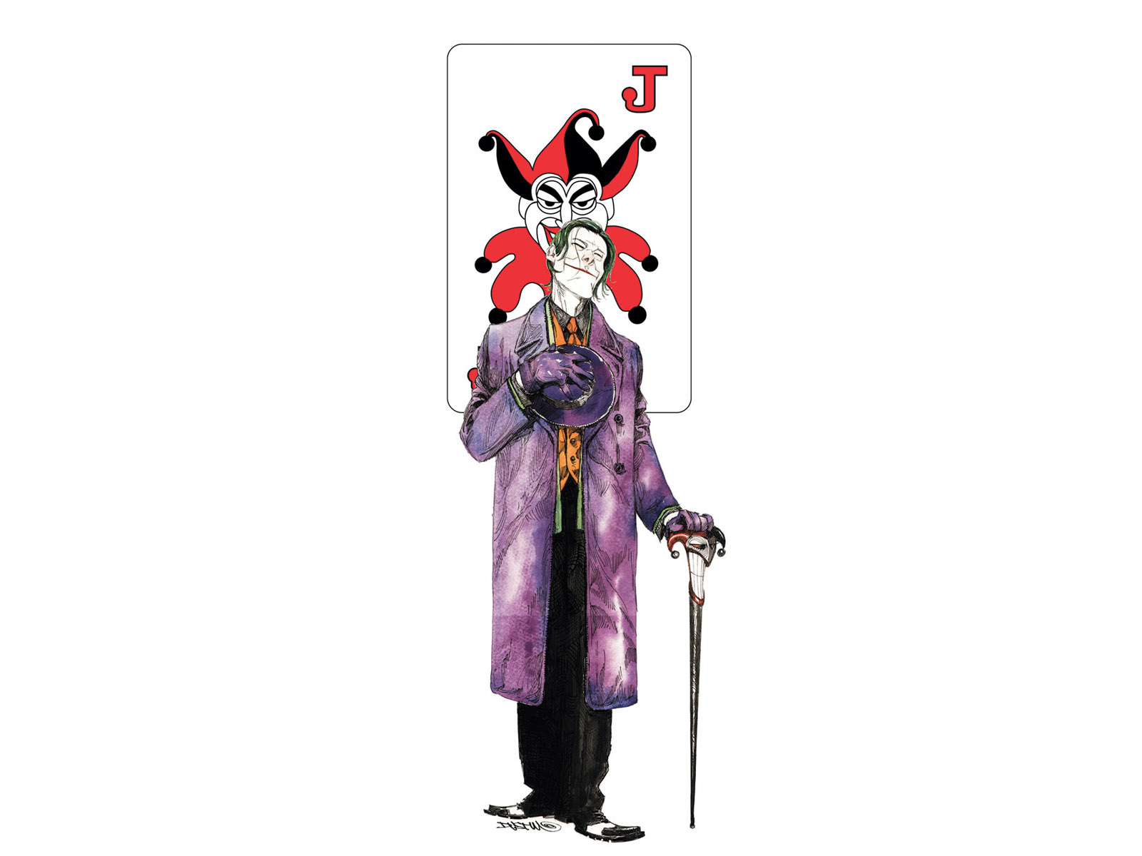 Iphone 5 Wallpaper Cool 小丑 壁纸 And 背景 1600x1200 Id 97725