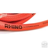 RhinoFLEX 25 x 5/8 Orange/Black Clean-Out Water Hose ...