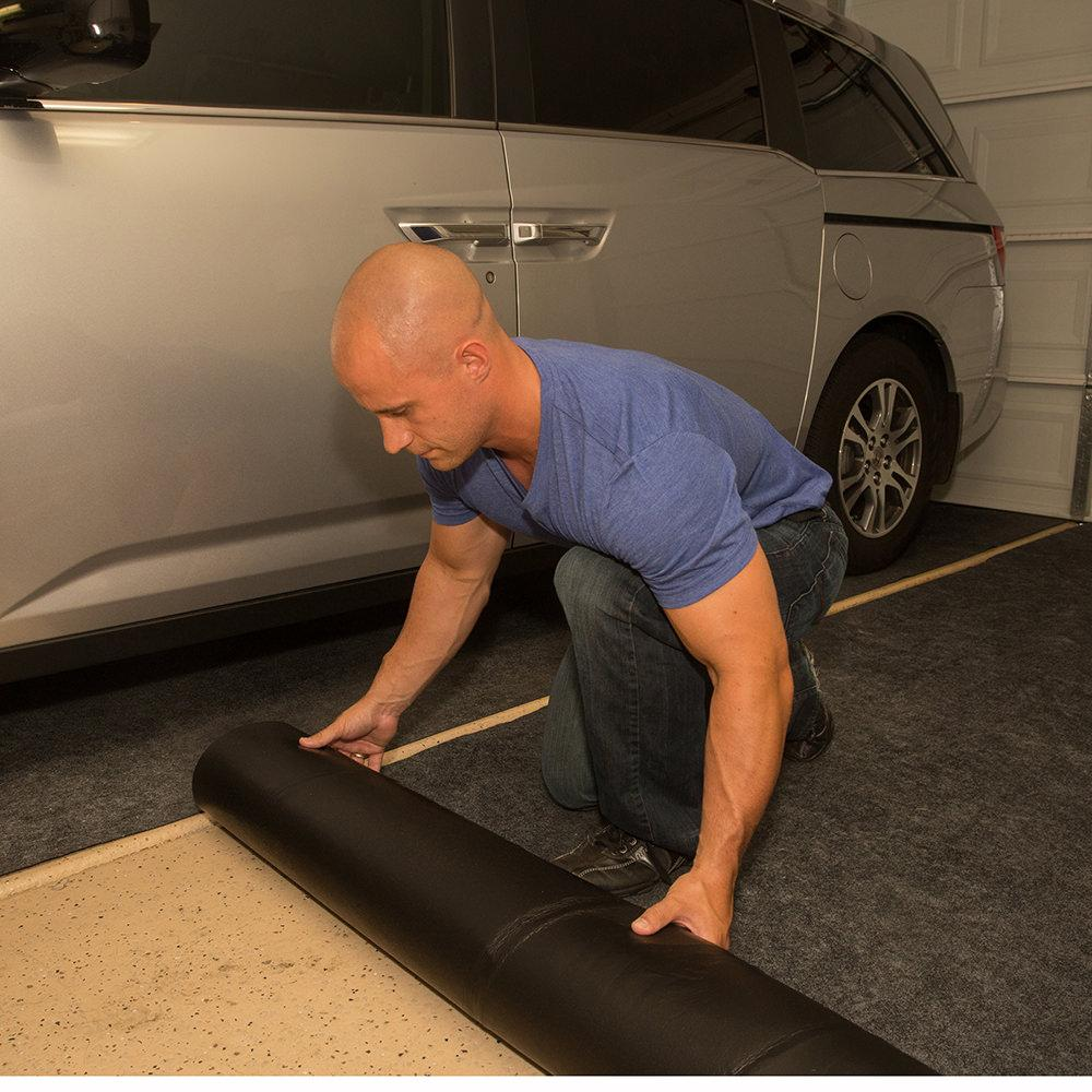 Drymate Garage Floor Mat Review Garage Floor Mat 20 Feet