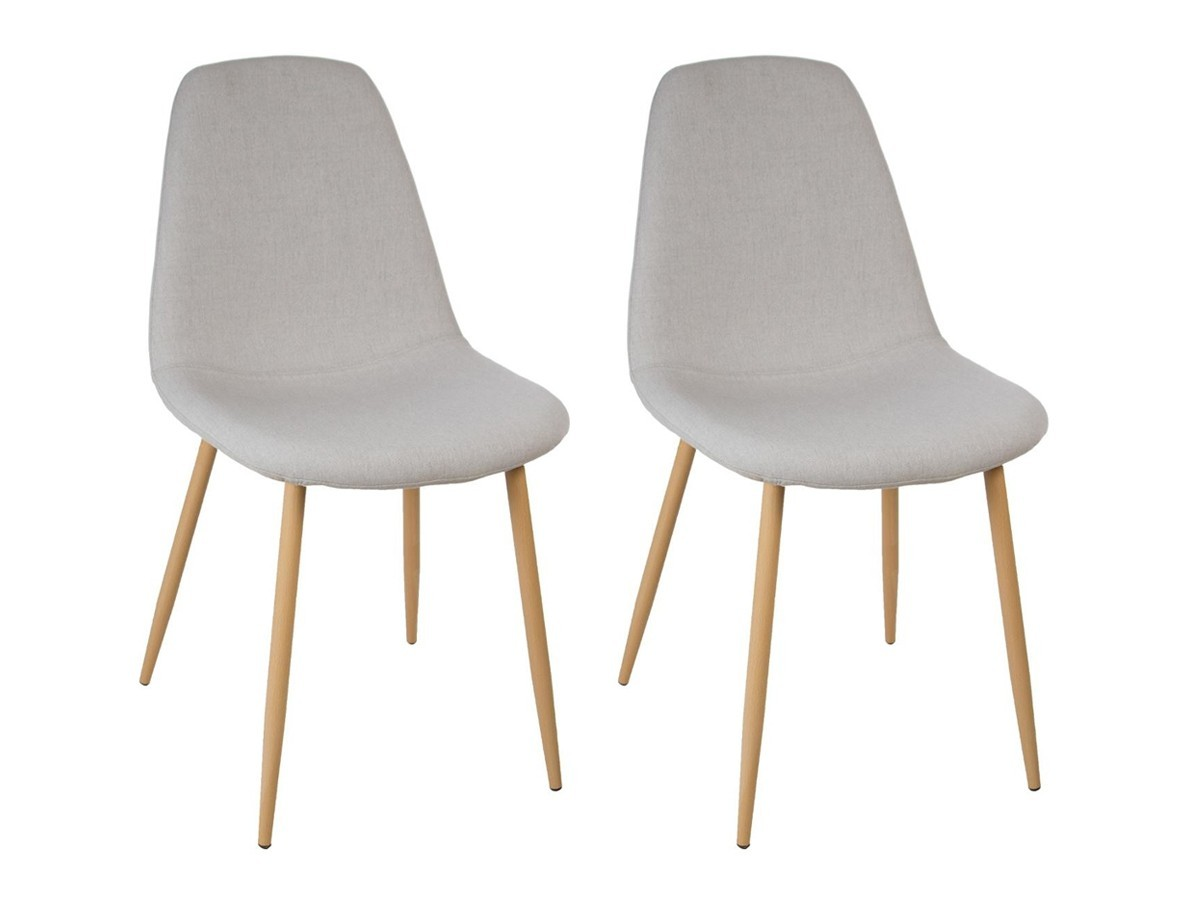 Chaises Scandi Chaise Lot De 2 Chaises Roka Quotpastel Scandi