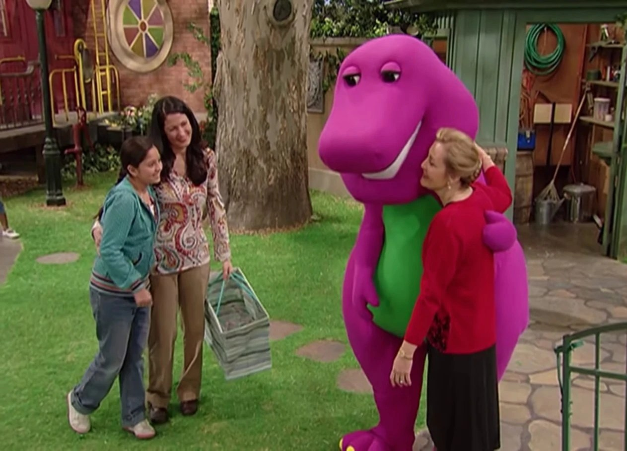 The Magic Lamp A Travel Adventure Barney And Friends