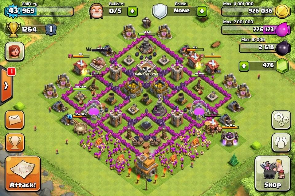 Best Th7 Base Set Up