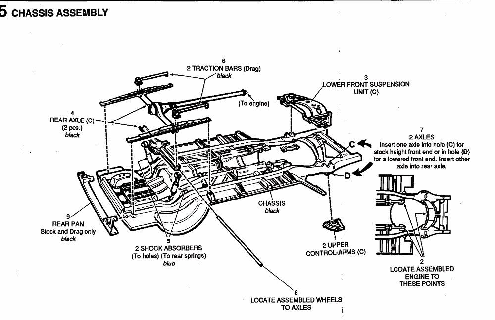 1951 chevy bel air bedradings schema