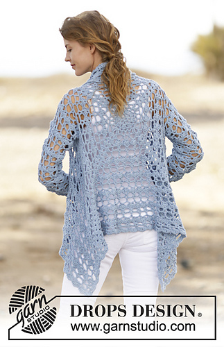 Drops Design Ravelry: 162-5 Spring Bliss Pattern By Drops Design