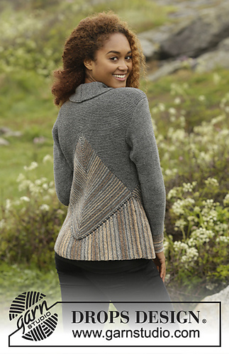 Drops Design Ravelry: 173-15 Tauriel Cardigan Pattern By Drops Design