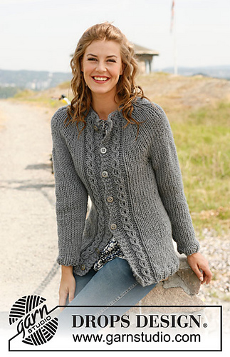Drops Design Ravelry: 134-17 Mist Pattern By Drops Design