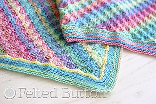 Ravelry Spring Into Summer Blanket Pattern By Susan Carlson