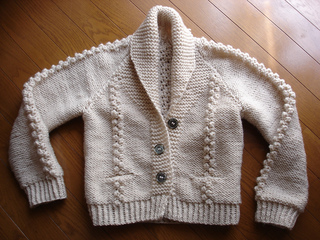 Ravelry P30 Shawl Collar Cardigan Pattern By