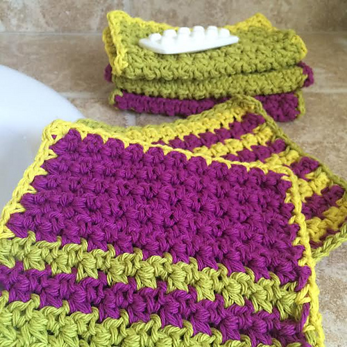 9 Knit And Crochet Patterns Using Cotton Ease And Kitchen Cotton